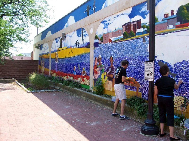 Cambridge full mural