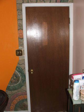 Bathroom door