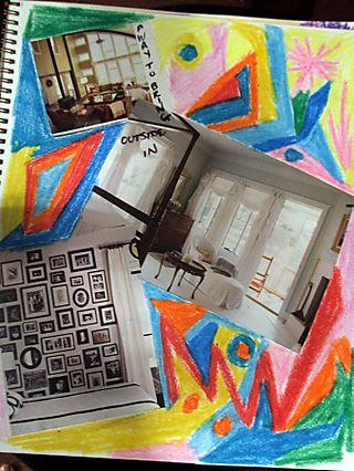 2D journal dream rooms w windows